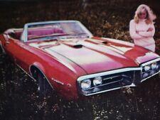 1967 PONTIAC FIREBIRD VINTAGE AD LOT *1969/ta/grille/emblem/decal/GTO/fender/SJ