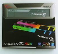 G. SKILL Trident Z RGB 2x8 16GB DDR4 3200(F4-3200C16D-16GTZR) Lifetime Warranty