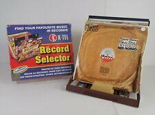 Vintage Retro K-Tel Vinyl 24 Record Selector Stand Boxed