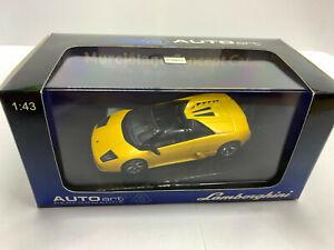 1/43 Lamborghini Murcielago Concept Car AUTOart 54551 Yellow Metallic