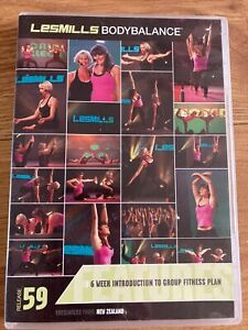 Les Mills Body Balance 59 Complete Instructor Pack DVD CD & Choreography Notes