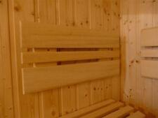 Sauna Rückenlehne Lehne Saunaliege Zubehör Bank Liege Saunabank Saunabau 176 cm