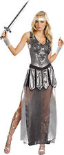 NEW Women's ADULT One Hot Knight Medieval Warrior Halloween Costume Dress SZ M