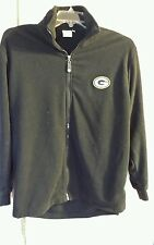 NFL Green Bay Packers Sports Illustrated Fleece Jacket Mens Size XL