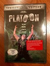 Oliver Stone's Platoon Special Edition DVD FACTORY SEALED