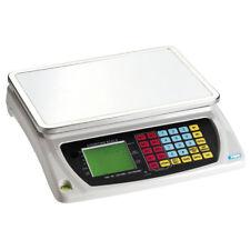 Balanza electrónica digital cuentapiezas y batería recargable 30kg FERVI B004/30