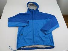 MARMOT Blue Rain Precip Jacket Coat Mens Large Hooded Windbreaker Anorak Zip