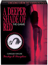 A DEEPER SHADE OF RED SEXY ADULT GAME EROTIC Adults Only Naughty Gift Sex Aid
