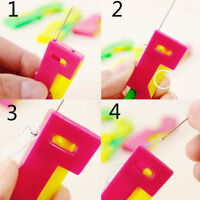 10PCS Automatic Sewing Needle Device Threader Thread Guide Elderly Easy Use Hot
