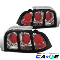 1994 1995 1996 1997 1998 Ford Mustang Replacement Rear Tail Lights Pair