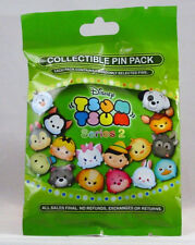 Disney Pin Collectible TSUM TSUM SERIES 2  Mystery Pack Randomly SEALED Set of 5
