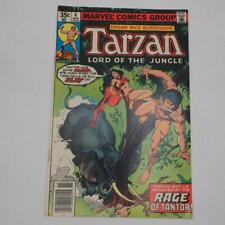 Marvel Comic Tarzan #6 Edgar Rice Burroughs 1977