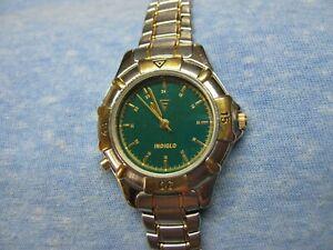 Women's Vintage TIMEX Water Resistant Watch w/ Backlight & New Battery