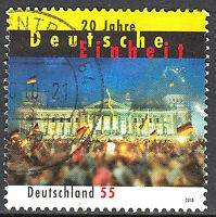 2821 Rundstempel gestempelt Briefzentrum 64 BRD Bund Deutschland Jahrgang 2010