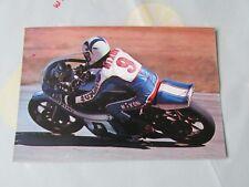 GARY NIXON ORIGINAL 1976 Motor Cycle Road Racing carte postale par VANDERHOUT