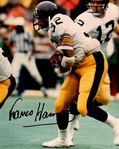 Reprint Autographed Franco Harris Pittsburgh Steelers 8X10 PHOTO Man Cave DECOR