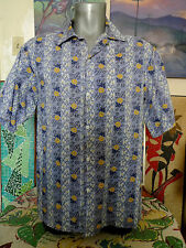 REYN SPOONER Hawaiian Traditionals Staters S/S Button Up HAWAIIAN Shirt Medium