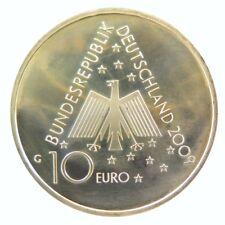 149 - 10 EUROS ALLEMAGNE 2009 - 100 ans auberges de jeunesse - argent