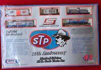 RICHARD PETTY NASCAR 25TH ANNIVERSARY HO SCALE STP TRAIN SET MIB *1997