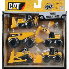 CAT Mini Machines Toy Set - Pack of 5