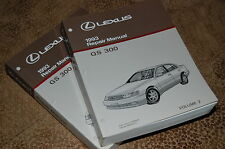 1993 Lexus GS 300 Repair Manual set Free Shipping contents like NEW