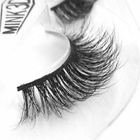3D Lashes Mink Natural Thick False Fake Eyelashes Eye Lashes Makeup Extension