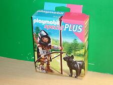 Playmobil Especial - Special Plus 5408 Montaraz con lobo