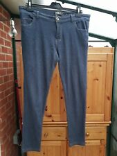 YesYes Blue Soft Jeggings, Low Rise, Size 14, VGC