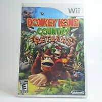 Donkey Kong Country Returns Nintendo Wii 2010 LOOK Free Same Day Shipping