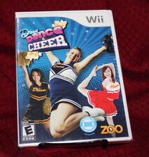 Dream Dance & Cheer Nintendo Wii New Sealed Free Shipping