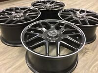 "19"" 19 inch Mercedes C63 AMG Style Staggered Wheels Rims  C E Class Replica New"