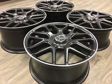 "18"" 18 inch OEM Spec Mercedes C63 AMG Staggered Wheels Rims C Class E Class New"