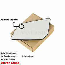 Left Side Power Heated Door Mirror Glass Fit For GMC Acadia CHEVROLET Traverse