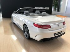Mercedes Benz, AMG S63 cabriolet, 1:18 Modellauto, Limited Edition 1967, A217