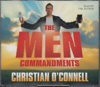 The Men Commandments Christian O'Connell 3CD Audio Book Abridged Comedy FASTPOST
