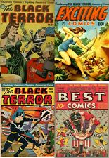 BLACK TERROR EXCITING AMERICA'S BEST COMICS COLLECTION ON DVD OVER 120 COMICS