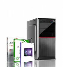 PC Intel Xeon i7 6x3.33GHz 8GB RAM SSD HDD GT710 2GB Windows 10 Rechner Computer