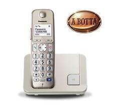 Telefono Cordless Panasonic KX-TGE210 JTN Dect Senior - DECT Rubrica Vivavoce
