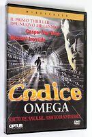 CODICE OMEGA DVD Optus 1999 Horror
