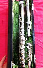 HAMMIG PHILIPP 663 -E- Vollsilberkopf Querflöte flute flauta flauto