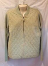 CHARTER CLUB SUEDE SWEATER LIME GREEN SIZE XL