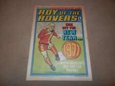 Roy of the Rovers 1 January 1977 Viv Busby George Best David Webb