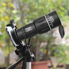 16X52 Monocular Scope Teleskop Telescope Fernglas Phone Halter Clip Stativ Neu