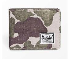 NWT Herschel Supply Co Roy+ RFID Wallet Frog Camo