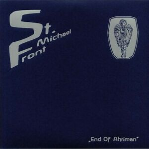 St. Michael Front – End Of Ahriman lim. 321 CLEAR LP Death in June Blood Axis