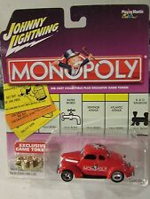 Johnny Lightning Monopoly Kentucky Ave. '37 Ford Coupe w/game token