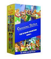 Geronimo Stilton 10 Books Series 3 Children Collection Paperback Box Set