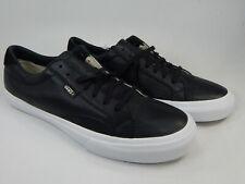 Vans Leather Size US 11 M EU 44.5 Men's Skate Shoes Sneakers Black 721454