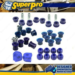 F+R Superpro Suspension Bush Kit for NISSAN NAVARA D22 - 1997-2014