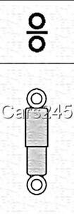 Rear Hydraulic Shock Absorbers PAIR Fits CITROEN Zx Xsara PEUGEOT 1983-